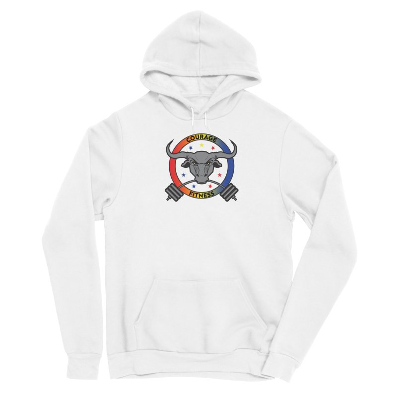 Courage Fitness Color Men's Pullover Hoody by Courage Fitness Durham