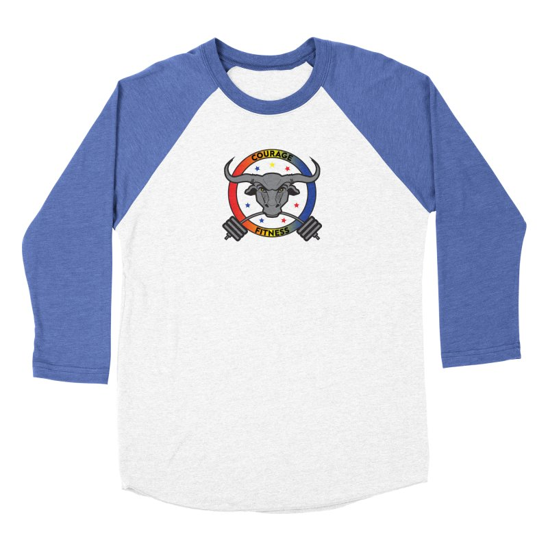 Courage Fitness Color Men's Longsleeve T-Shirt by Courage Fitness Durham