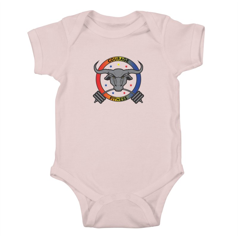 Courage Fitness Color Kids Baby Bodysuit by Courage Fitness Durham