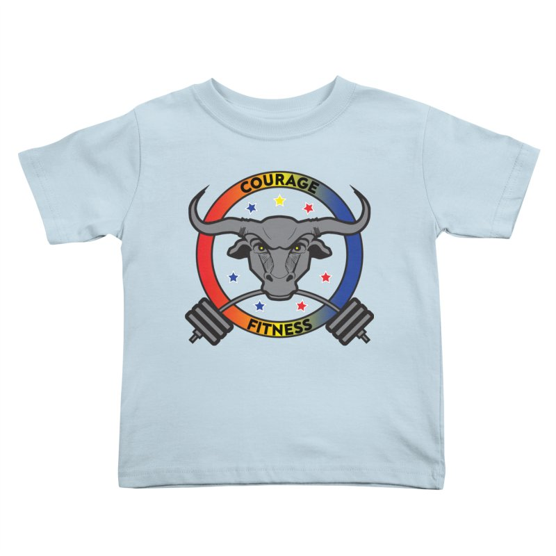 Courage Fitness Color Kids Toddler T-Shirt by Courage Fitness Durham