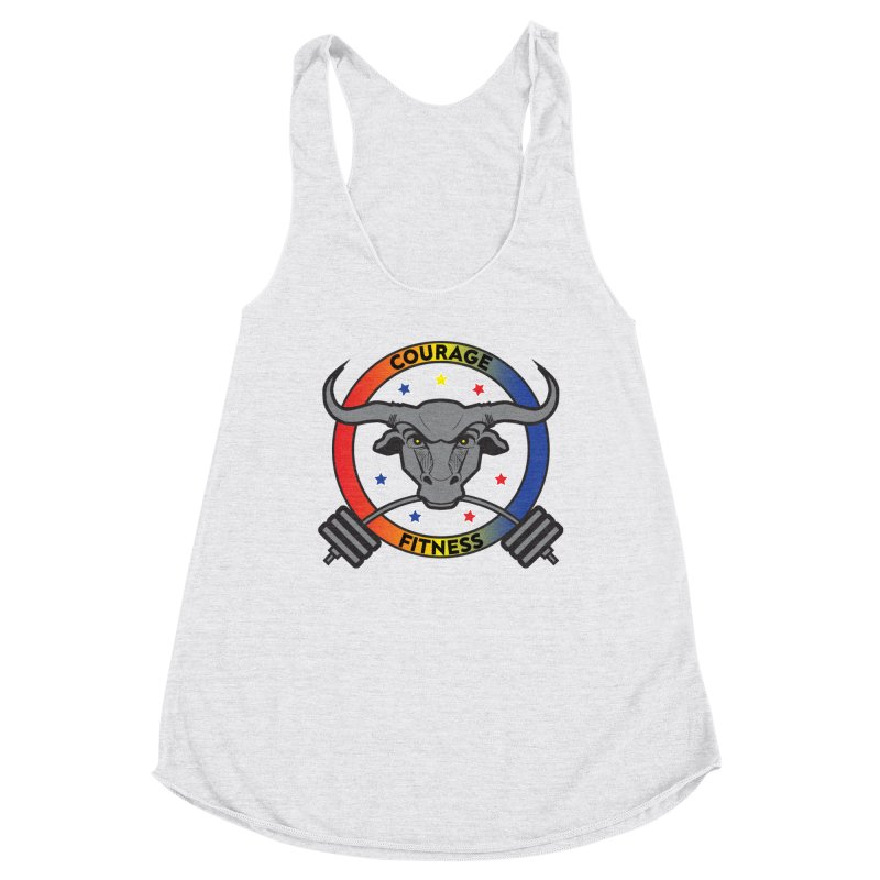 Courage Fitness Color Women's Tank by Courage Fitness Durham