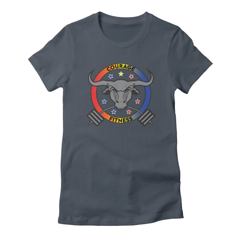 Courage Fitness Color Women's T-Shirt by Courage Fitness Durham