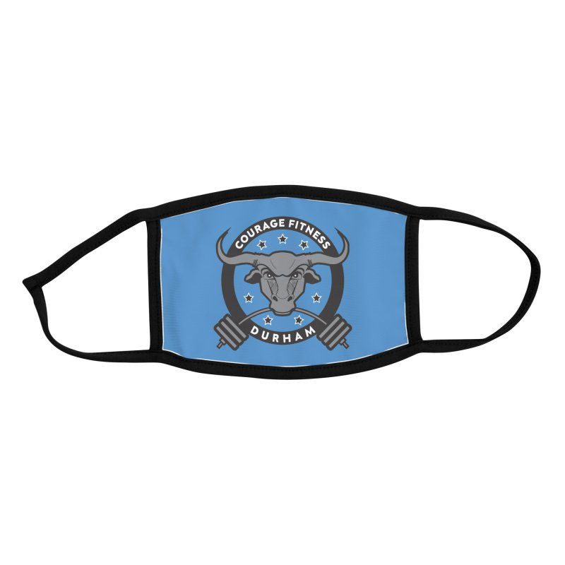 Courage Fitness Durham B&W Accessories Face Mask by Courage Fitness Durham