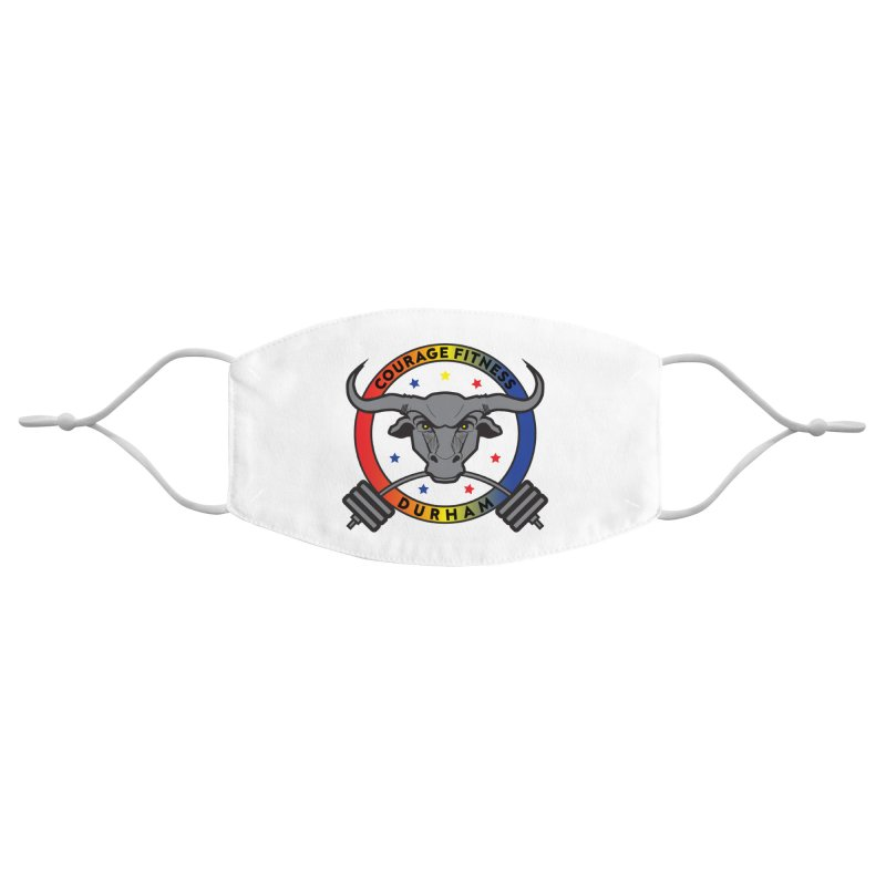 Courage Fitness Durham Color Accessories Face Mask by Courage Fitness Durham