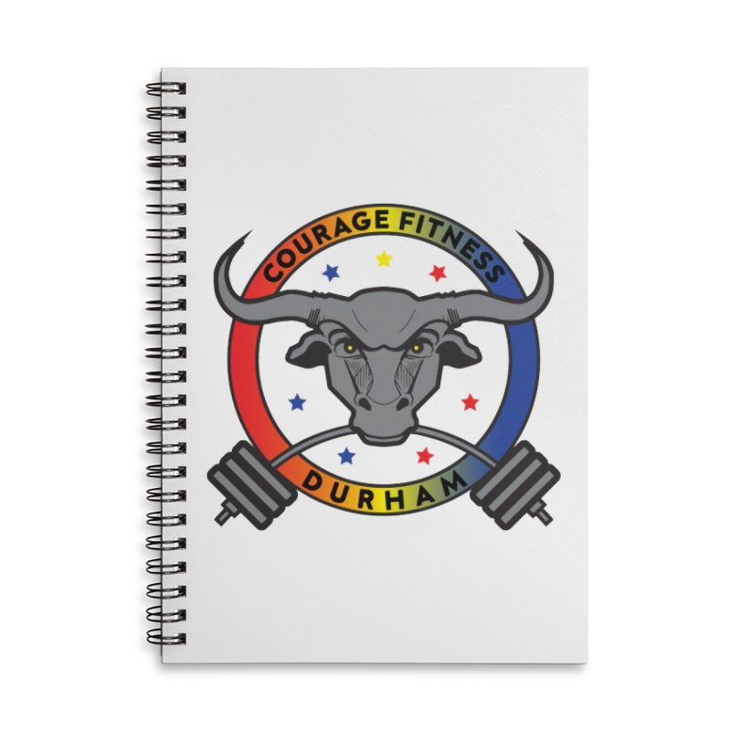 Courage Fitness Durham Color Accessories Notebook by Courage Fitness Durham