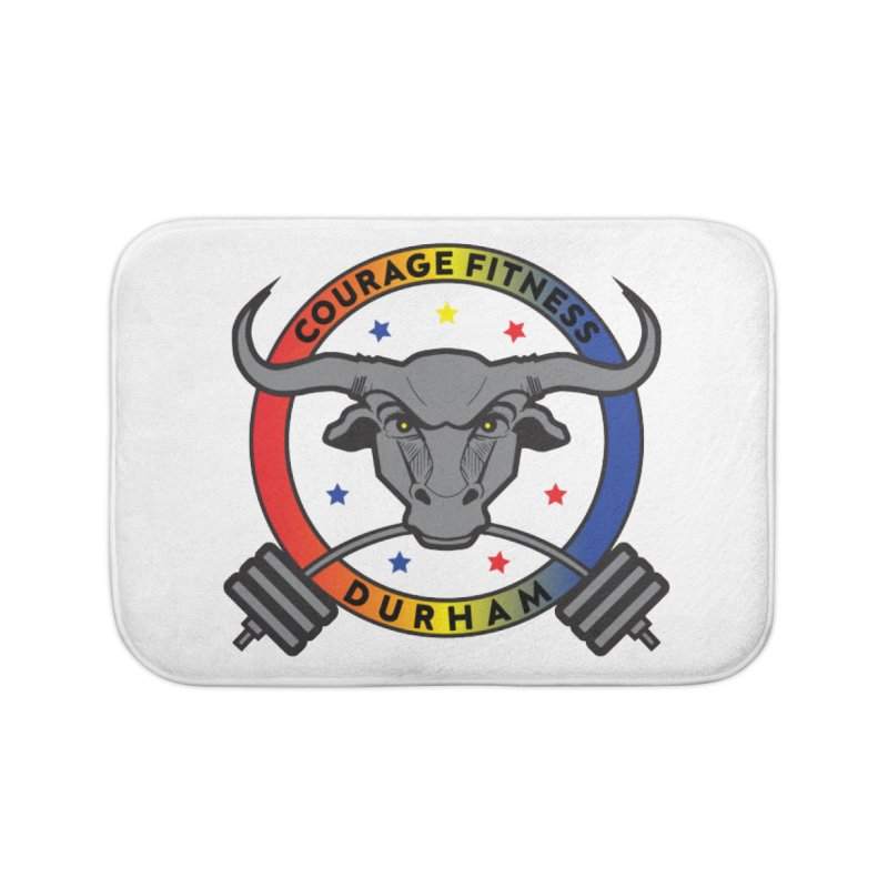 Courage Fitness Durham Color Home Bath Mat by Courage Fitness Durham