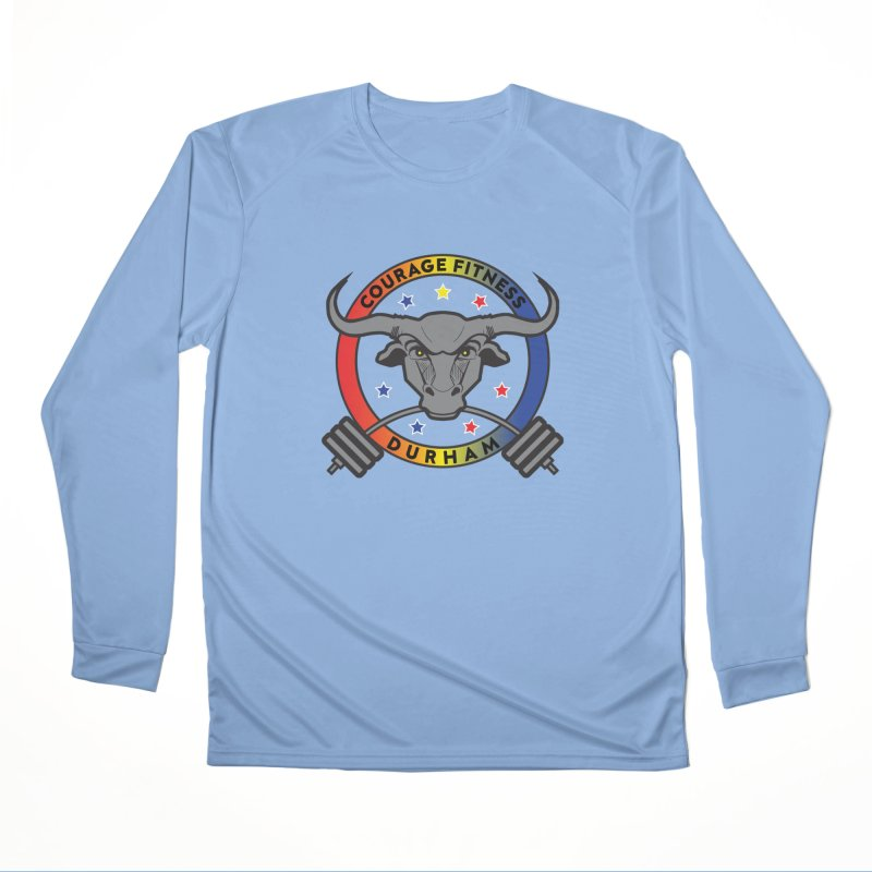 Courage Fitness Durham Color Men's Longsleeve T-Shirt by Courage Fitness Durham