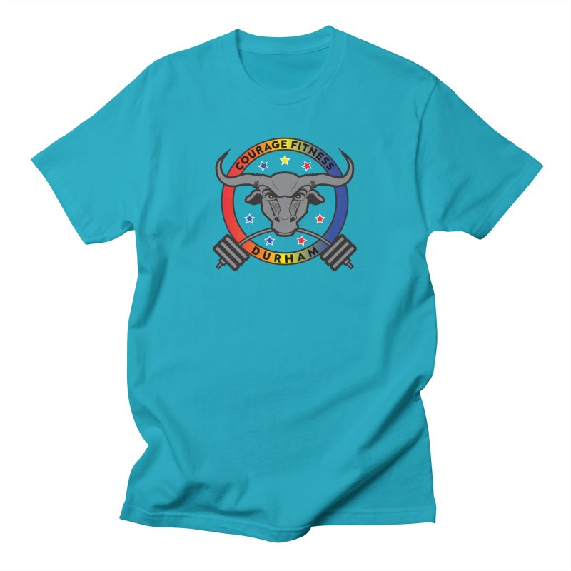 Courage Fitness Durham Color Men's T-Shirt by Courage Fitness Durham
