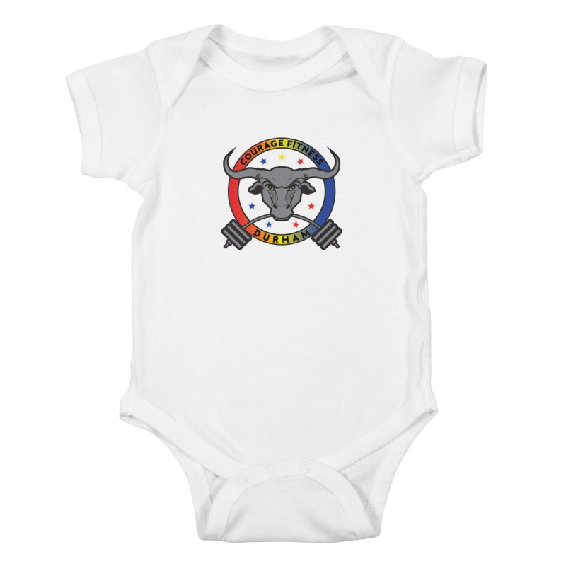 Courage Fitness Durham Color Kids Baby Bodysuit by Courage Fitness Durham