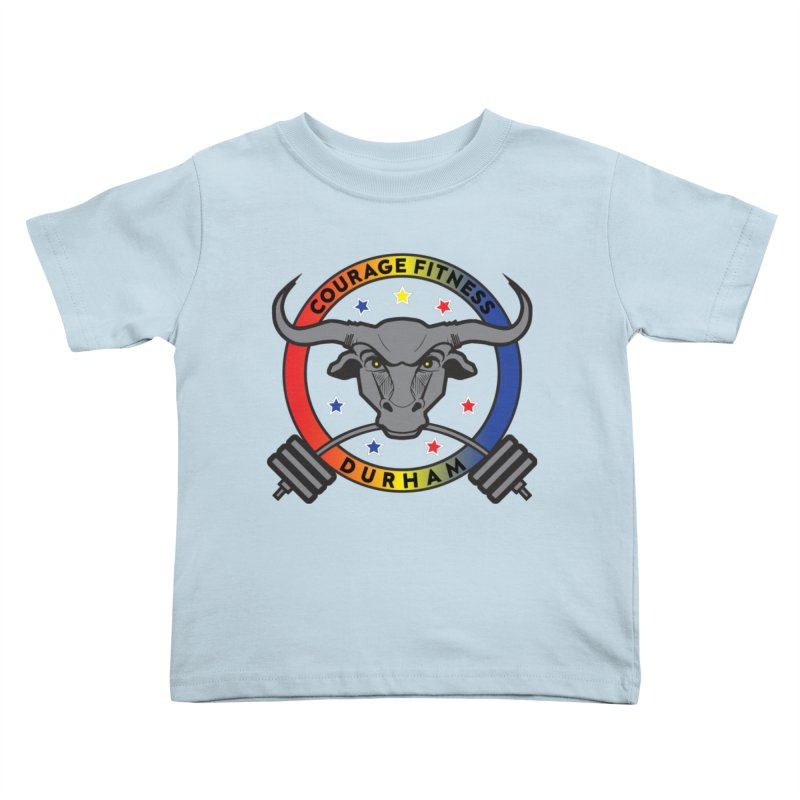 Courage Fitness Durham Color Kids Toddler T-Shirt by Courage Fitness Durham