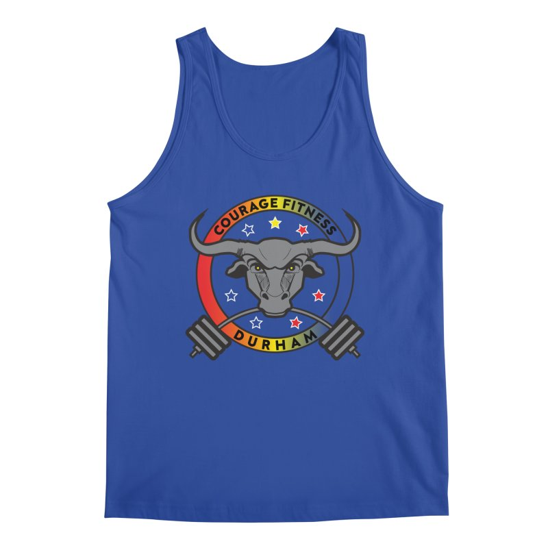 Courage Fitness Durham Color Men's Tank by Courage Fitness Durham