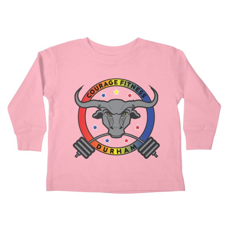 Courage Fitness Durham Color Kids Toddler Longsleeve T-Shirt by Courage Fitness Durham