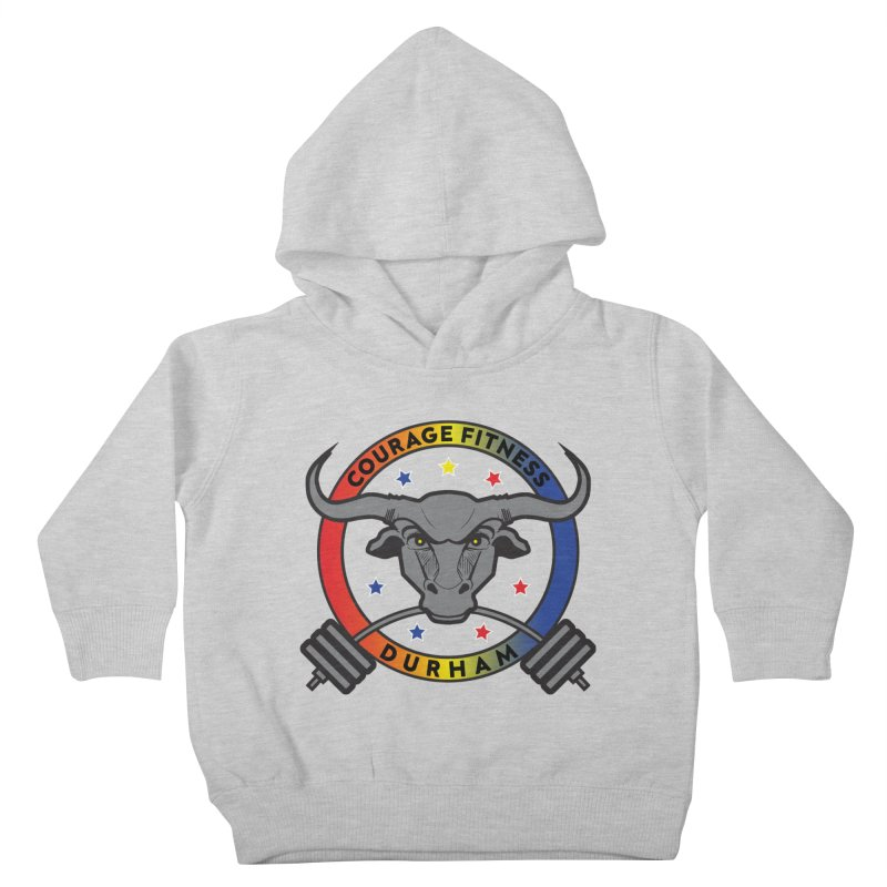 Courage Fitness Durham Color Kids Toddler Pullover Hoody by Courage Fitness Durham