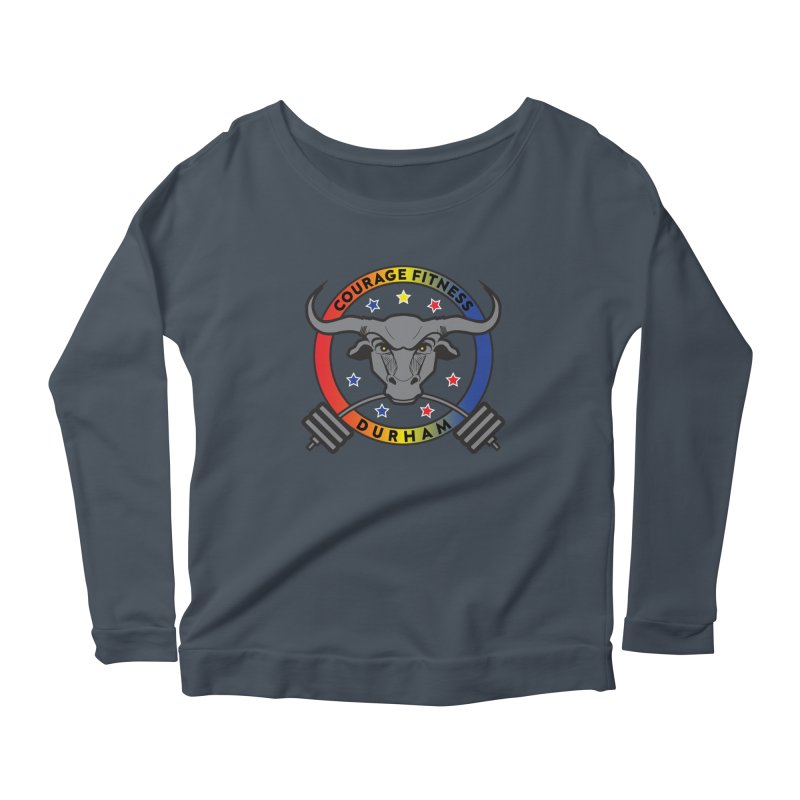 Courage Fitness Durham Color Women's Longsleeve T-Shirt by Courage Fitness Durham