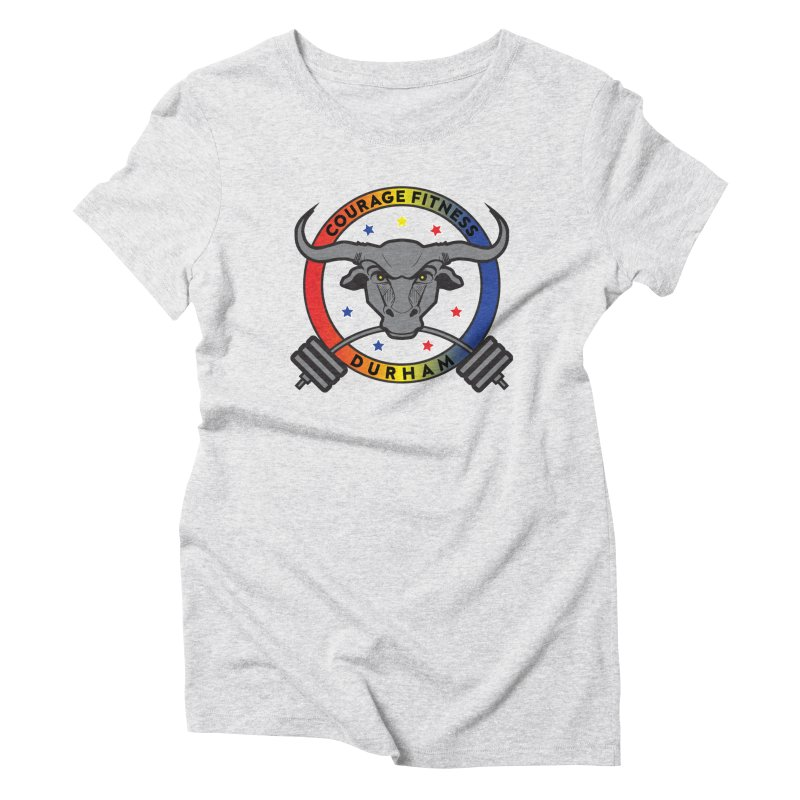 Courage Fitness Durham Color Women's T-Shirt by Courage Fitness Durham