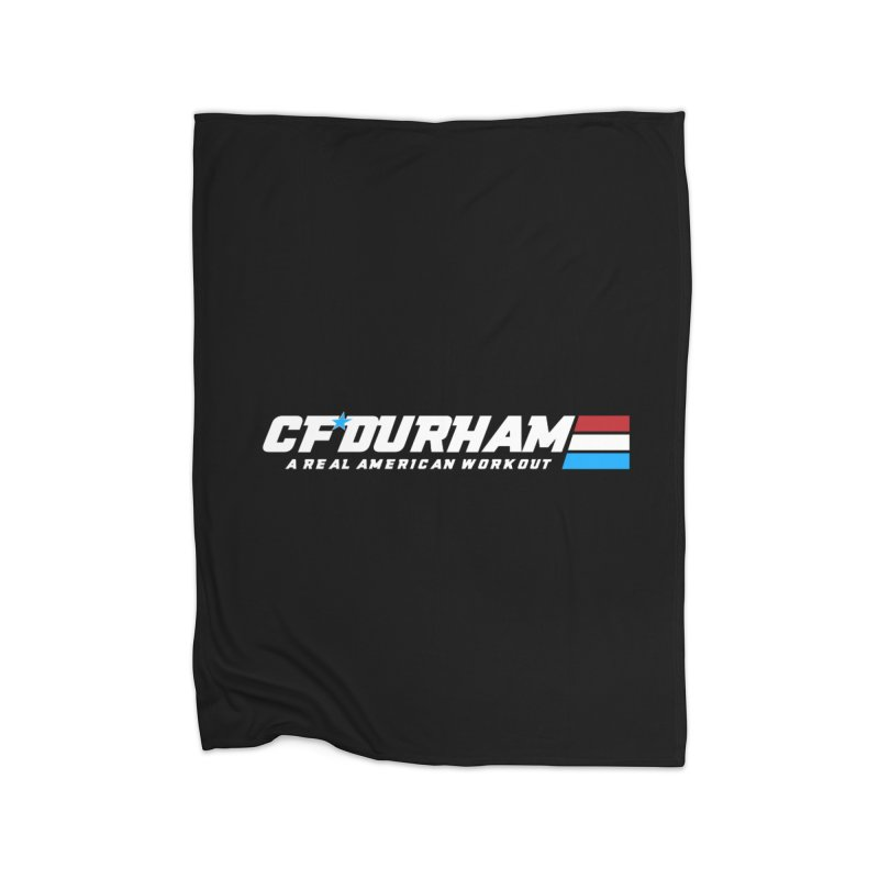 Real American Workout Home Blanket by Courage Fitness Durham