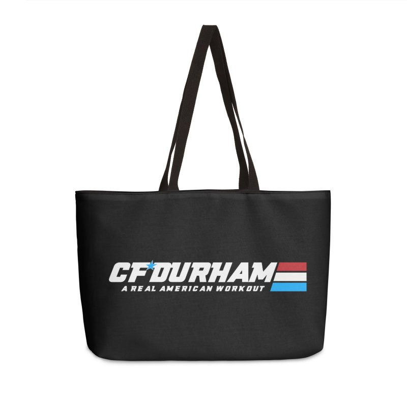 Real American Workout Accessories Bag by Courage Fitness Durham