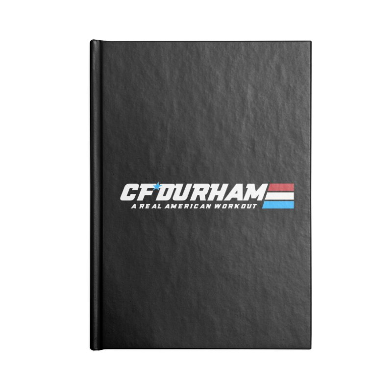 Real American Workout Accessories Notebook by Courage Fitness Durham