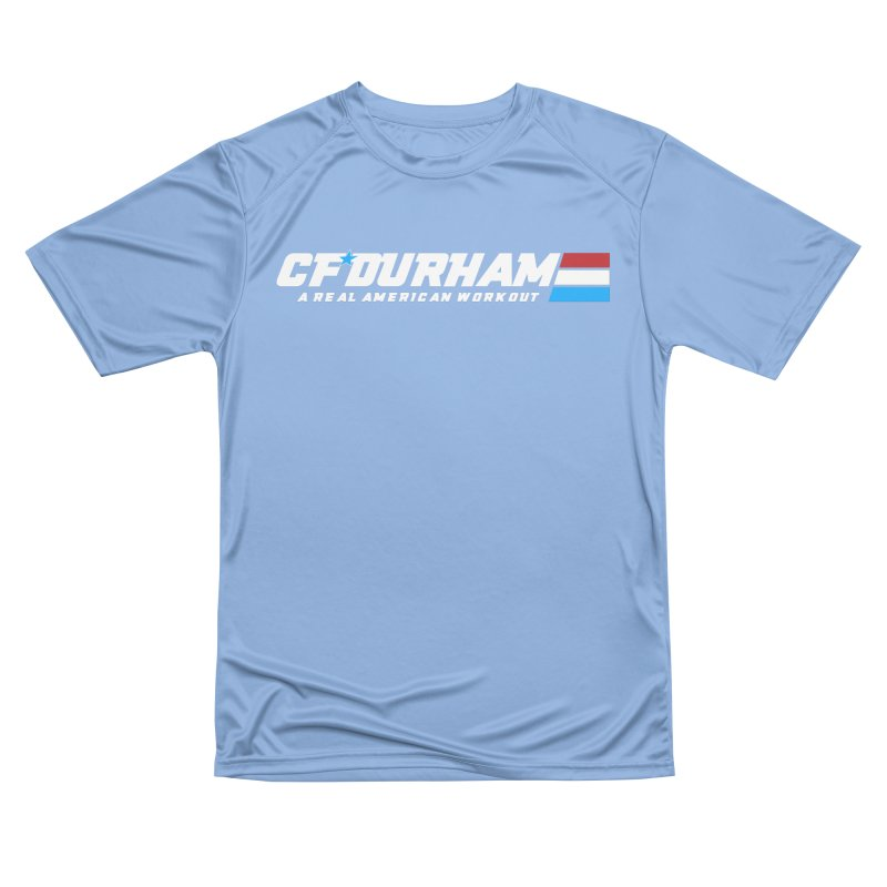 Real American Workout Women's T-Shirt by Courage Fitness Durham