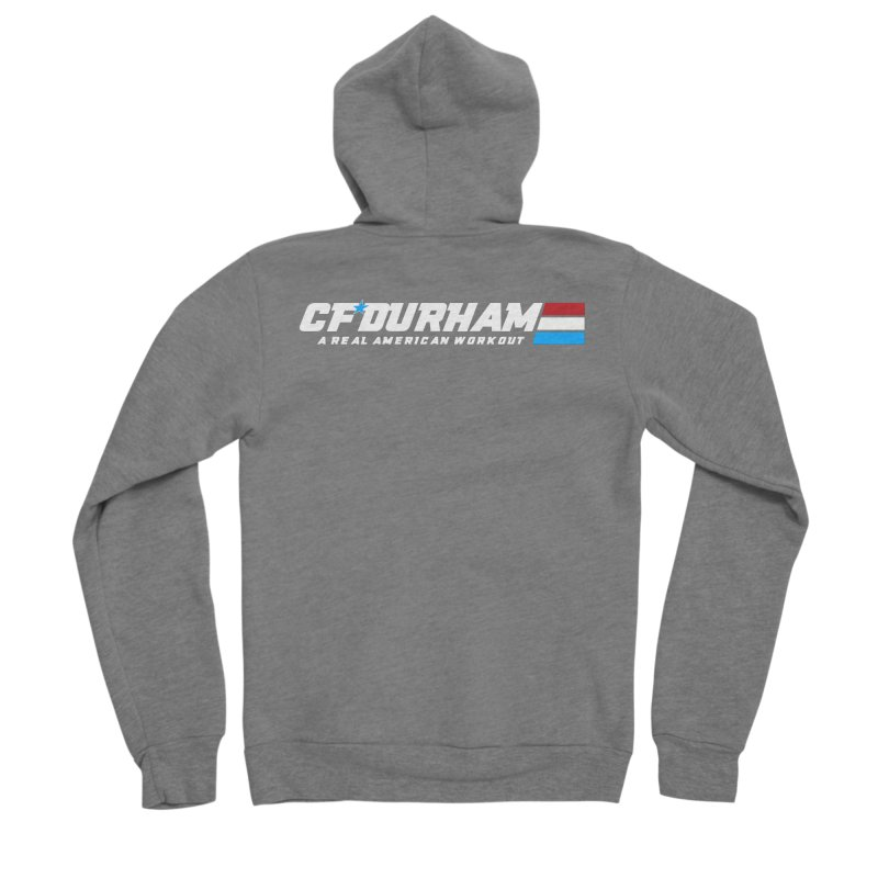 Real American Workout Women's Zip-Up Hoody by Courage Fitness Durham