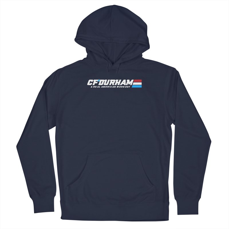 Real American Workout Men's Pullover Hoody by Courage Fitness Durham
