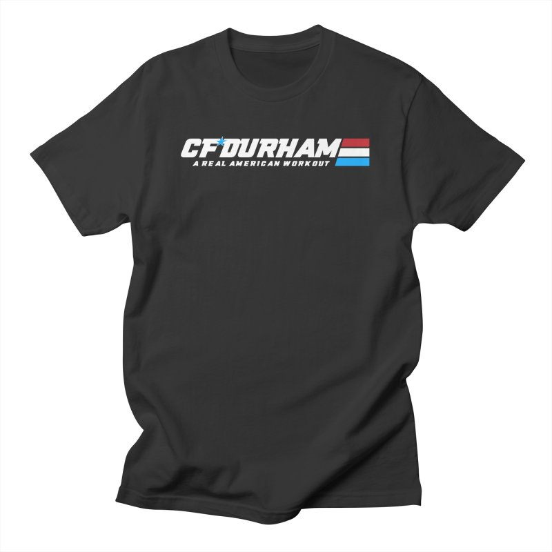 Real American Workout Men's T-Shirt by Courage Fitness Durham