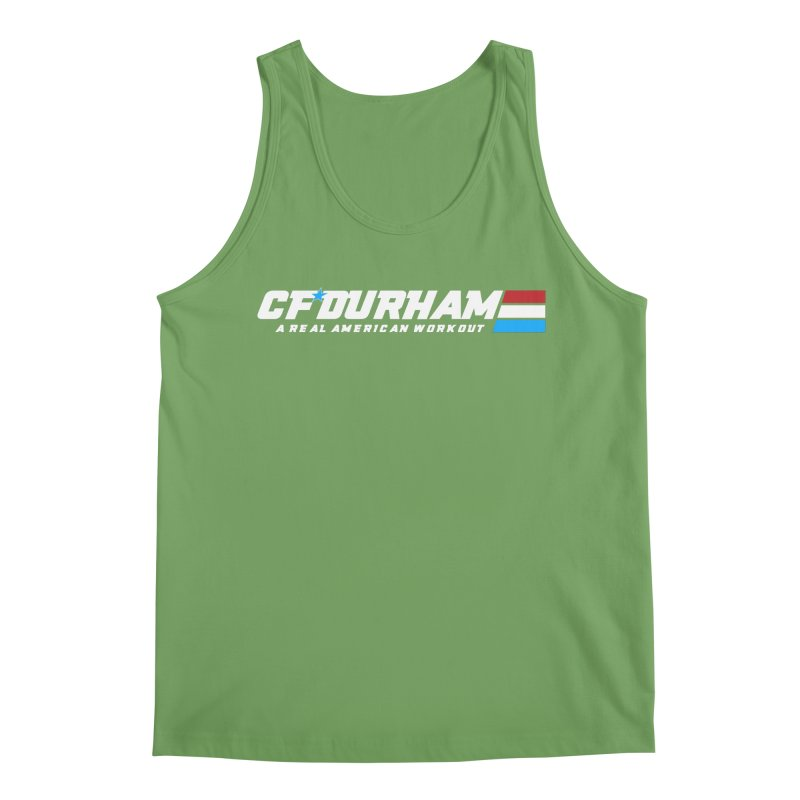 Real American Workout Men's Tank by Courage Fitness Durham