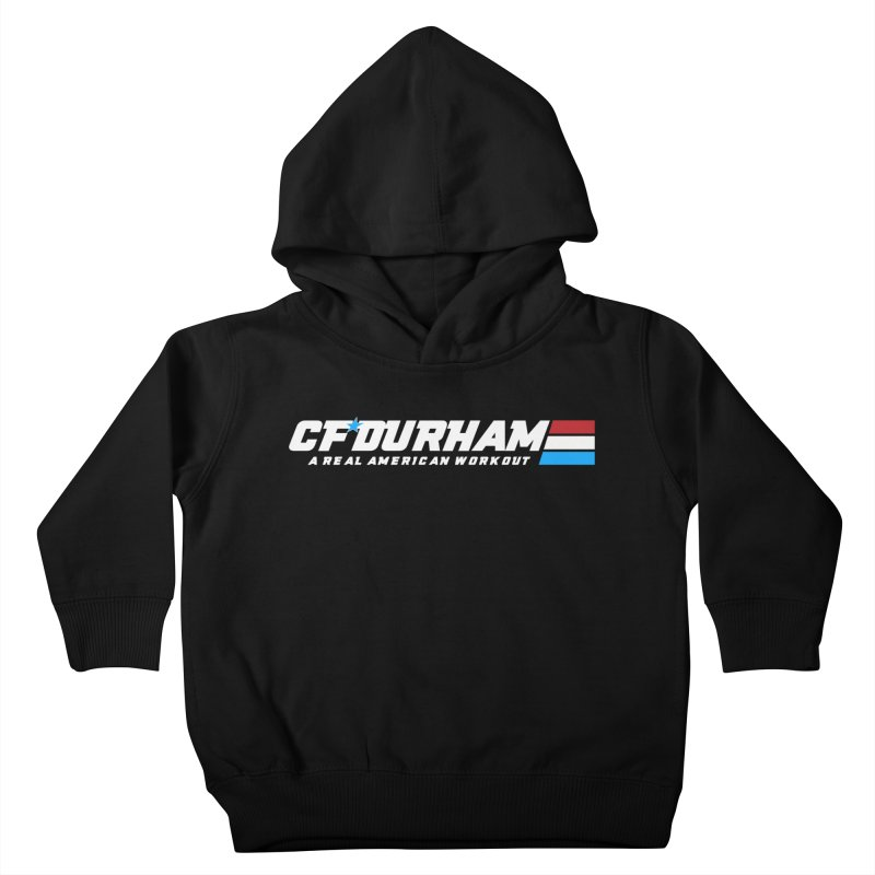 Real American Workout Kids Toddler Pullover Hoody by Courage Fitness Durham