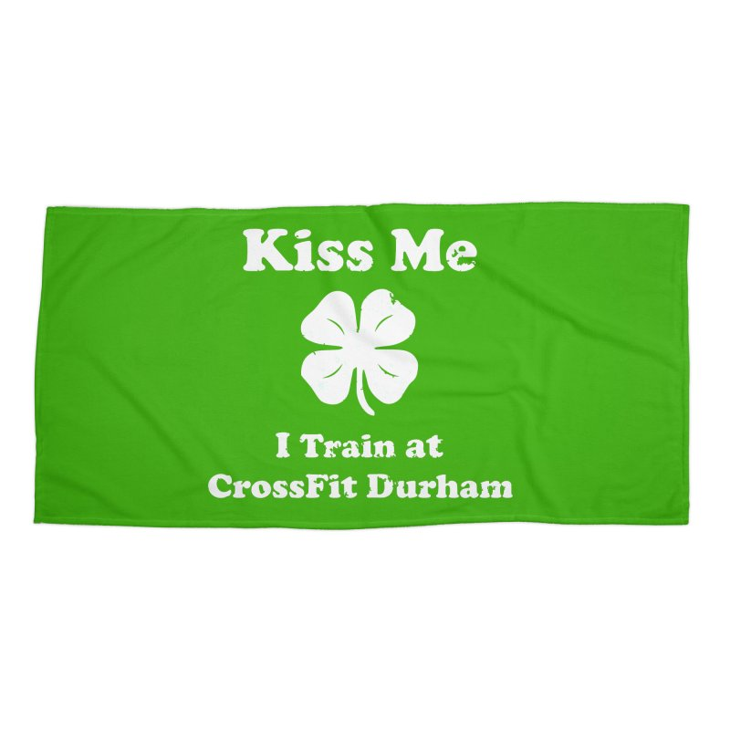 Kiss Me Accessories Beach Towel by CrossFit Durham