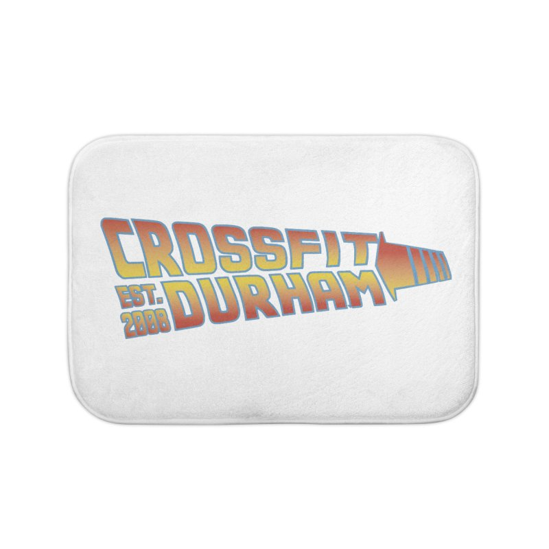Back To The Future Home Bath Mat by CrossFit Durham