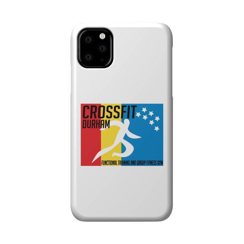Durham Flag Accessories Phone Case by CrossFit Durham