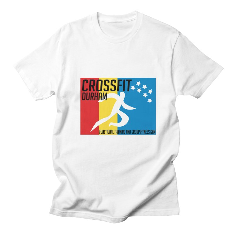 Durham Flag Men's T-Shirt by CrossFit Durham