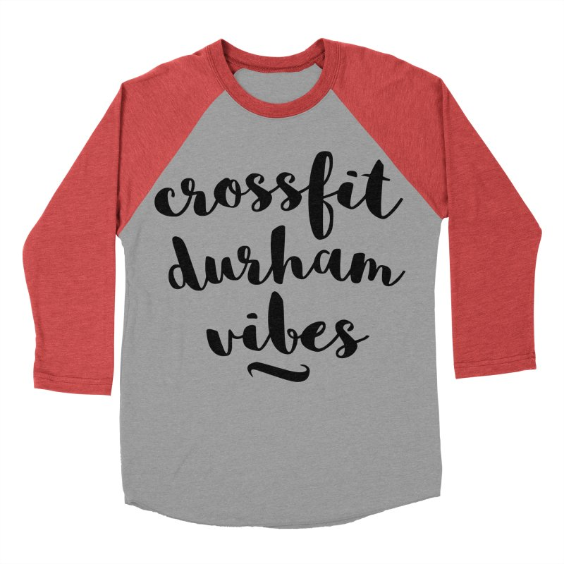 CFD Vibes Men's Baseball Triblend Longsleeve T-Shirt by CrossFit Durham