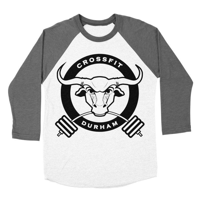 Circle Bull Women's Baseball Triblend Longsleeve T-Shirt by CrossFit Durham