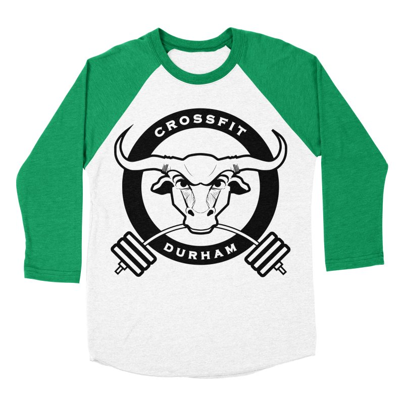 Circle Bull Women's Baseball Triblend Longsleeve T-Shirt by CrossFit Durham