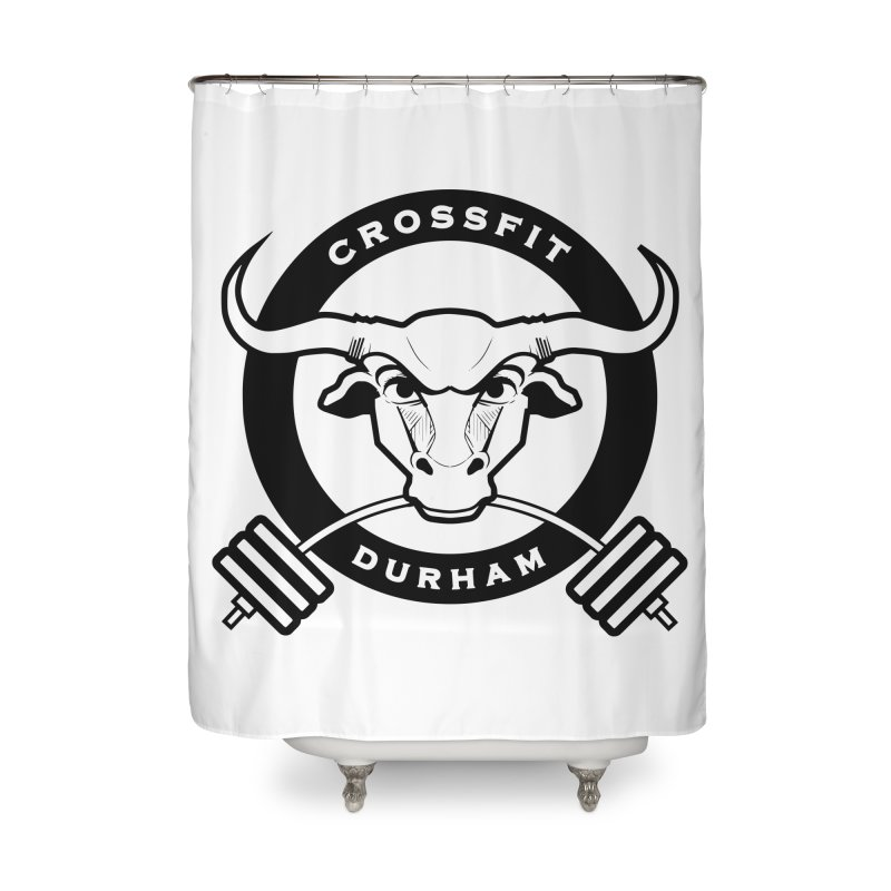 Circle Bull Home Shower Curtain by CrossFit Durham
