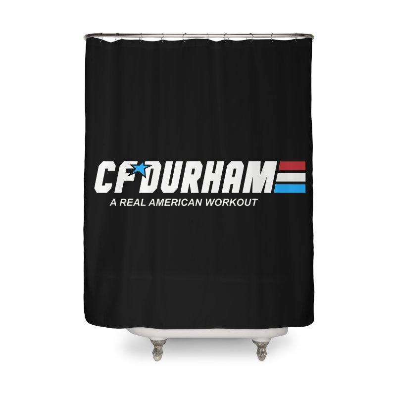 GI Joe Home Shower Curtain by Courage Fitness Durham