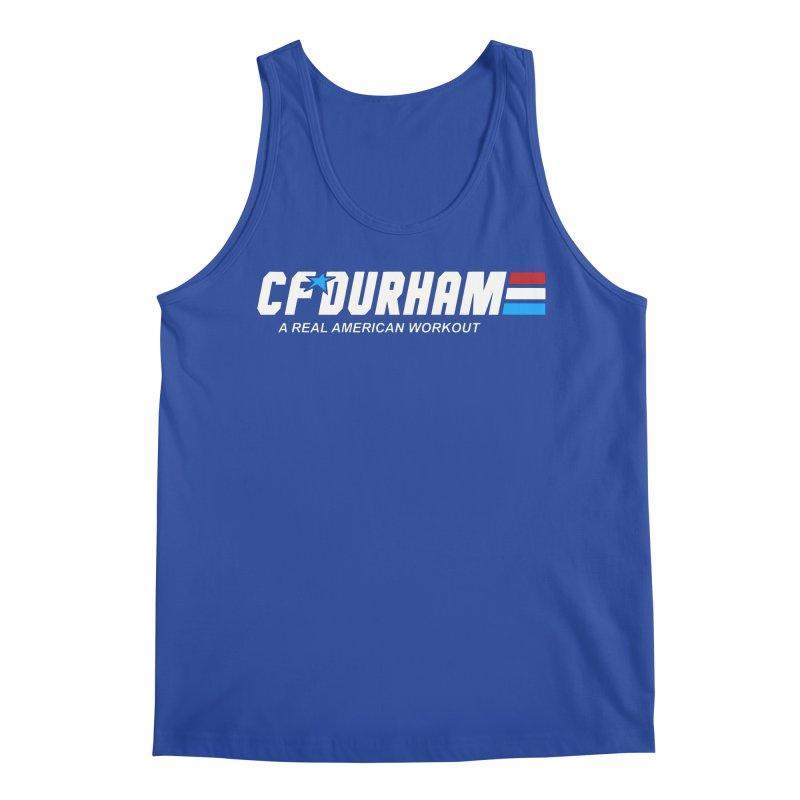 GI Joe Men's Regular Tank by CrossFit Durham