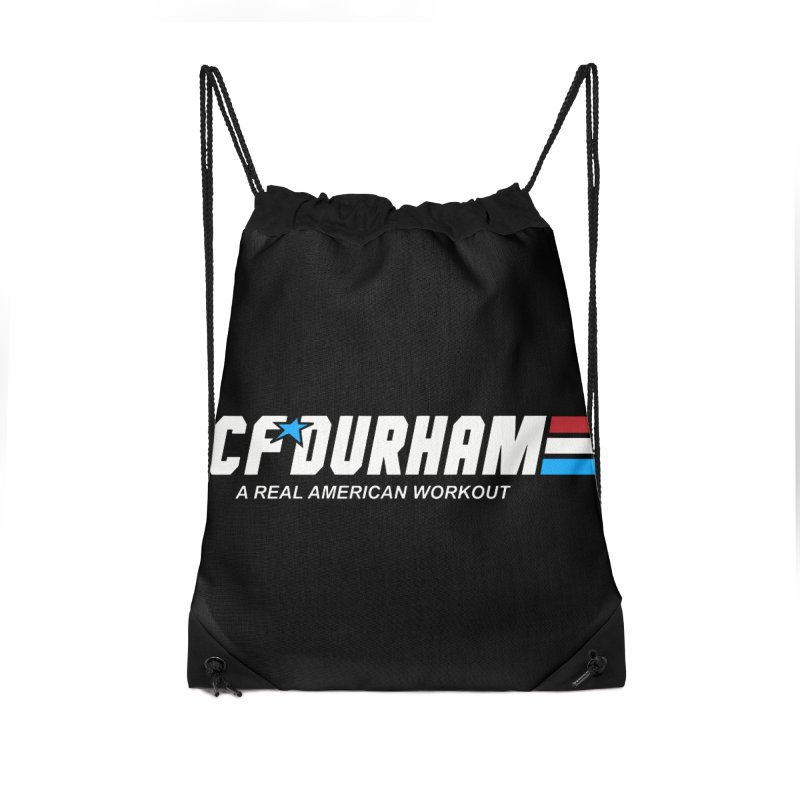 GI Joe Accessories Drawstring Bag Bag by CrossFit Durham