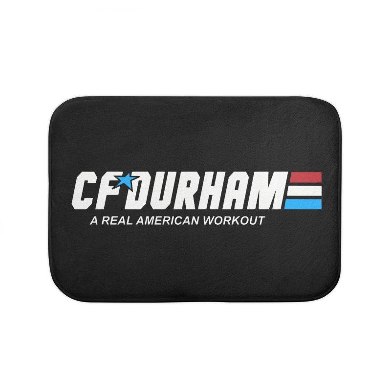 GI Joe Home Bath Mat by CrossFit Durham