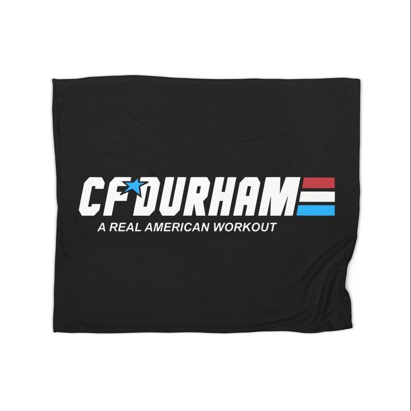 GI Joe Home Fleece Blanket Blanket by CrossFit Durham