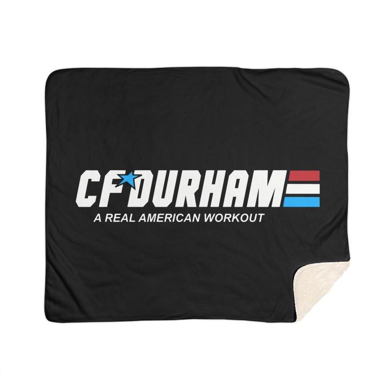 GI Joe Home Sherpa Blanket Blanket by CrossFit Durham