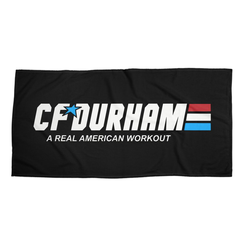 GI Joe Accessories Beach Towel by CrossFit Durham