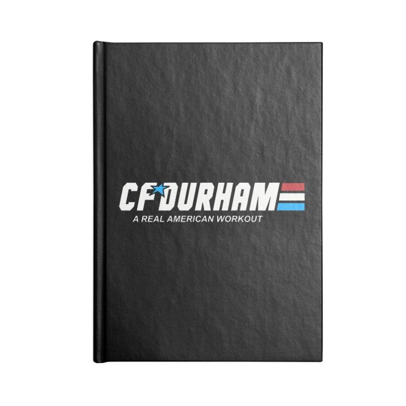 GI Joe Accessories Blank Journal Notebook by CrossFit Durham
