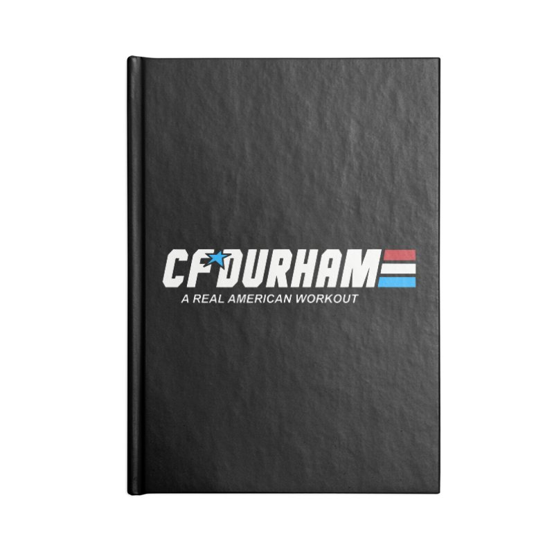 GI Joe Accessories Lined Journal Notebook by CrossFit Durham