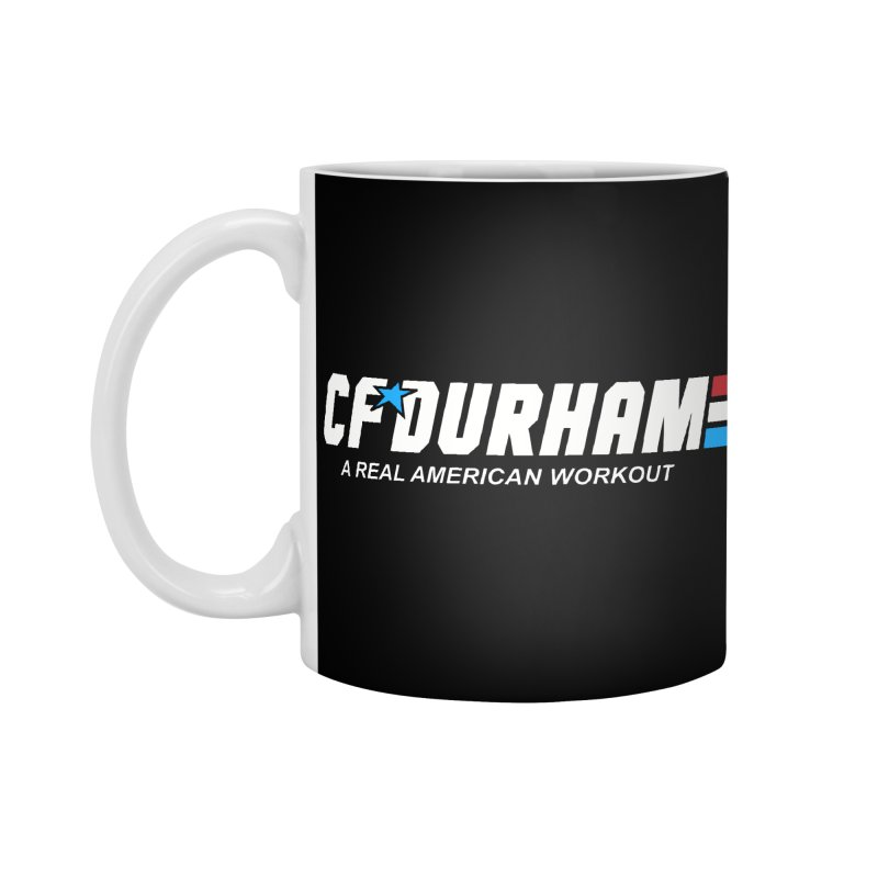 GI Joe Accessories Standard Mug by CrossFit Durham