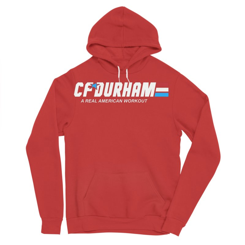 GI Joe Men's Sponge Fleece Pullover Hoody by CrossFit Durham