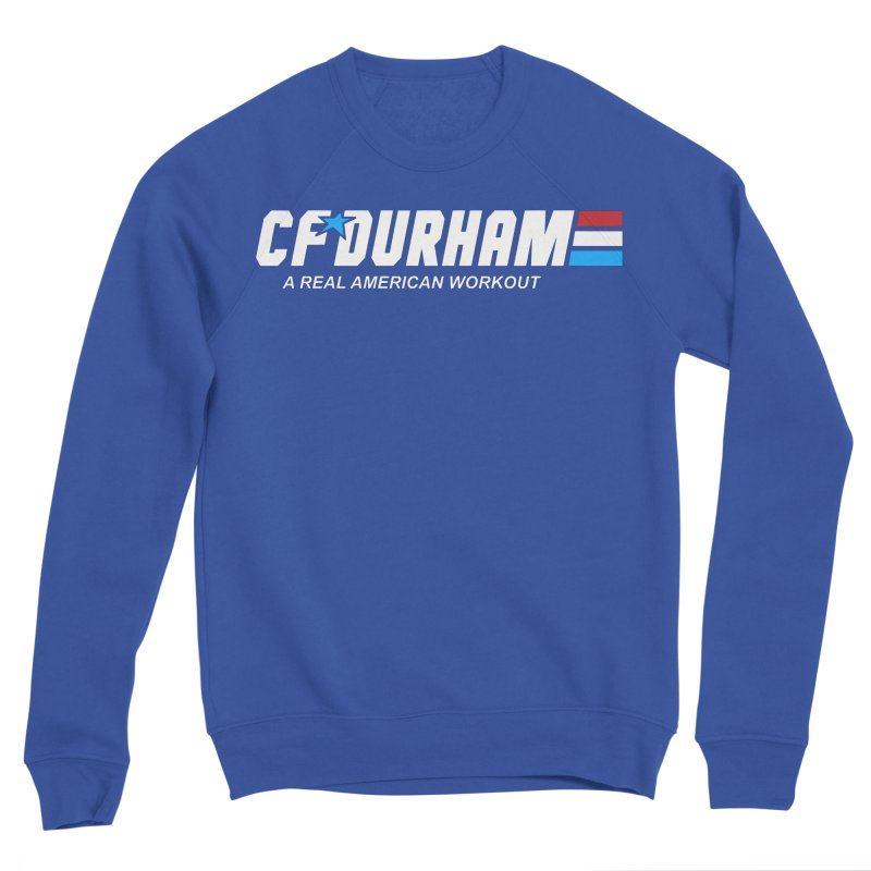 GI Joe Men's Sponge Fleece Sweatshirt by CrossFit Durham