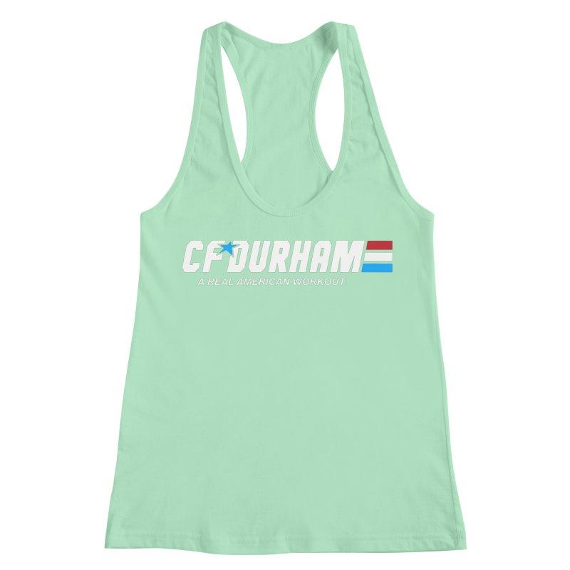 GI Joe Women's Racerback Tank by CrossFit Durham