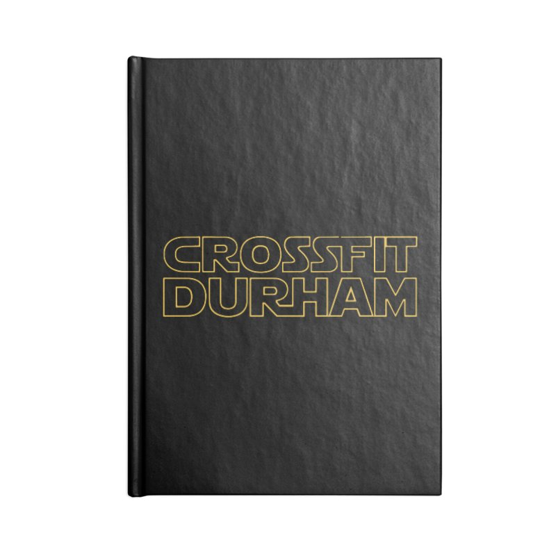 Star Wars Accessories Lined Journal Notebook by CrossFit Durham